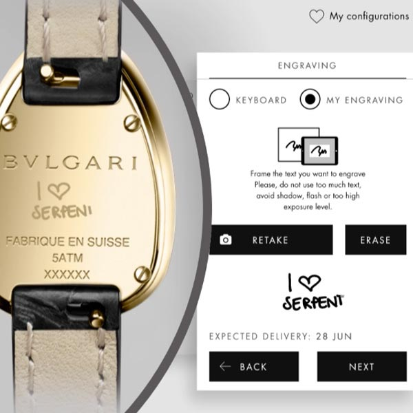 Bulgari - My Serpenti app